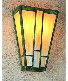 Craftsman Style Wall Sconces