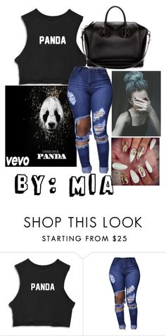 """Pandapandapanda and"" by cookiejoint ❤ liked on Polyvore featuring Givenchy"