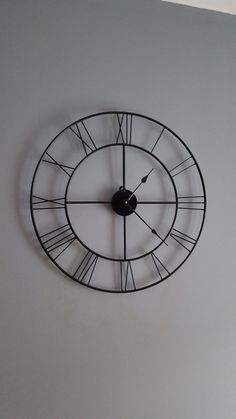 These clocks are hand made by me and each one is unique in its own way.  This clock is 20 x 20  Happy to make custom sizes.  ALL CLOCKS WILL BE SHIPPED WITH HANDS OFF SO THEY DO NOT GET BROKEN DURING SHIPPING. The hands are very very easily attached once recieved.  FOR CUSTOM SIZES PLEASE CONTACT ME USING THE ASK THE SELLER OPTION BEFORE ORDERING.  These are powered using a high quality battery operated High Torque Quartz movement. These can be hung using a simple tack nail. This clock is in…