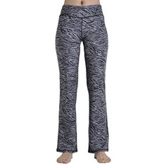 d28b54e993e4 iYoga Women s High Waisted Yoga Pants Stretchy Wide Leg Pants with Pocket  -- Click image