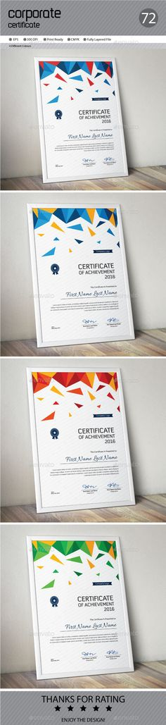 Certificate Template AI Illustrator. Download here: http://graphicriver.net/item/certificate/16667974?ref=ksioks