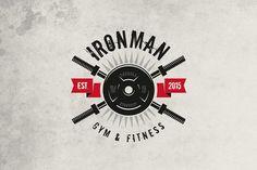 Gym & Fitness Logo - Logos