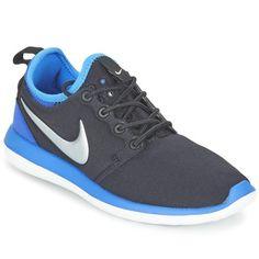 Skor Pojk Sneakers Nike ROSHE TWO JUNIOR Svart / Blå