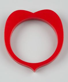 Take a look at the Teethease Red Sweetheart Teething Bangle on #zulily today!
