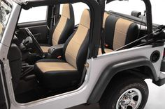 Coverking Jeep Neoprene Seat Covers - Best Price on Neoprene Jeep Seat Covers