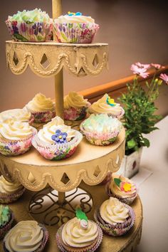Cupcakes by my cousin Lucy, Aunt Jo and I & decorations by the talented @ArtsyBaker_ #MadeWithLove #OurWedding <3 #LoveIsInTheAir #Weddingbells  english-country-garden-wedding