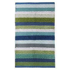 Target: Circo® Cool Woven Stripe Bath Rug  (Online Item #: 14669069 / Store Item Number (DPCI): 064-21-0238)  $19.99