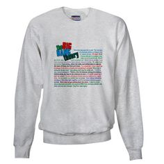 The Big Bang Theory Quotations Sweatshirt.  $27.99 CafePress has the best selection of custom t-shirts, personalized gifts, posters , art, mugs, and much more.{Cafepress-Bt87orA1}