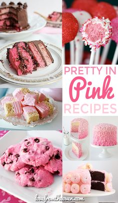 Pink Recipes For Valentines Day