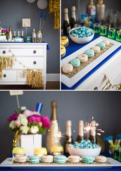 Modern Mindy-Scaled Down Dessert Table by Gray Harper Event Maker