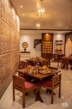 Rajwada- The Traditional Style Restaurant In Jabalpur French Architecture, Victorian Architecture, Sustainable Architecture, Contemporary Architecture, Architecture Design, Dark Room Photography, Sitting Arrangement, Bedroom Wall Designs, Interior Decorating