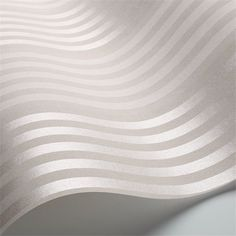 Papier peint - Cole and Son - Cheltenham Stripe - Blanc