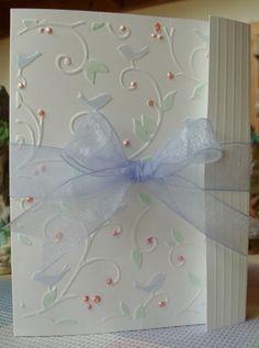 Birds and Swirls folder. Simply gorgeous! *