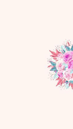 Simple Iphone Wallpaper, Cute Tumblr Wallpaper, Flowery Wallpaper, Free Phone Wallpaper, Homescreen Wallpaper, Pretty Wallpapers, Aesthetic Backgrounds, Aesthetic Wallpapers, Phone Backgrounds