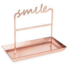 Porte-bijoux en métal SMILING