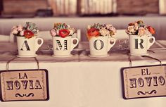 So beautiful! Mexican Inspired tiles and pots