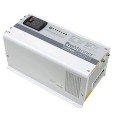 ProMariner TruePower 2000PS Combi Pure Sine Wave Inverter-Charger. TruePower 2000PS - 100VAC/12VDCThe TruePower PS Pure Sine Wave Combination Inverter/Charger, provides all the benefits and features of our QS series but yields a Pure Sine Wave AC output which is equal to the quality of AC power enjoyed at home. Pure Sine Wave Technology is perfect for mobile or on the water audio/visual systems with plasma or LCD flat screen technology in addition to large appliances with hysteresis motor…