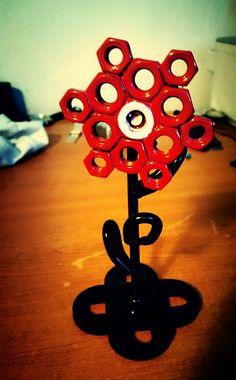 Welding flower