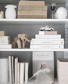 Lovely shelf styling
