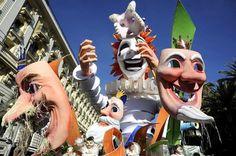 Nice Carnival in February