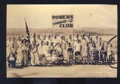 REAL PHOTO QUINCY WASHINGTON WOMENS FEDERATED CLUB SUFFRAGETTE POSTCARD COPY | eBay