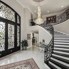 Luxury House Interior Design Tips And Inspiration Mansion Interior, Luxury Homes Interior, Luxury Home Decor, Home Interior Design, Interior Doors, Elegant Home Decor, Elegant Homes, Dream Home Design, House Design