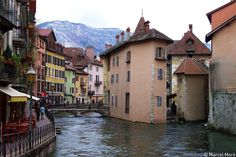 alps cities in France | French Alps city of Annecy, France