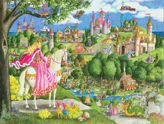 Once Upon A Time Fantasy Children's Puzzles