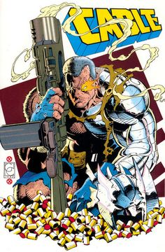 Cable by Greg Capullo Comic Book Artists, Comic Book Characters, Comic Artist, Comic Books Art, Marvel Characters, Marvel Comics Art, Marvel X, Marvel Heroes, Cable Marvel