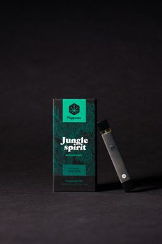 Packaging Design for a New Brand of CBD Oils and Vaping Pens