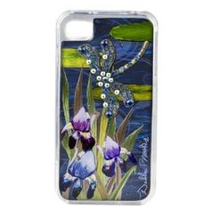 Debbie Brooks iPhone 4 and 4S cover - Blue Dragonfly - As Seen on Shark Tank --- http://www.amazon.com/Debbie-Brooks-iPhone-cover-Dragonfly/dp/B008H2VO94/?tag=hotomamoon0d8-20
