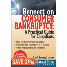 Bennett on Bankruptcy hits stores TODAY. Find yours at Chapters across Canada.