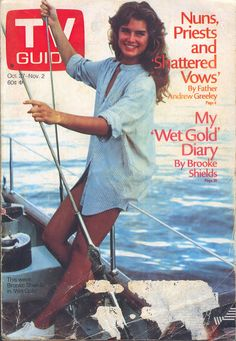 Brooke Shields on the cover of TV Guide (October 27, 1984)