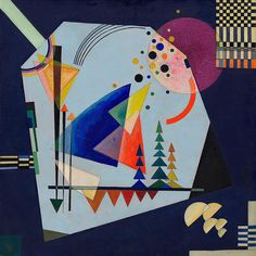 Vasily Kandinsky, Three Sounds (Drei Klänge), August 1926