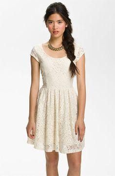 Nordstrom junior lace dress
