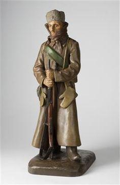 Gutfreund Otto (Dvůr Králové 1889 - 1927 Praha) Frantisek Kupka, French Army, Prague, First World, World War, Art, Auction, Art Background, Kunst