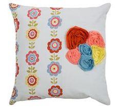 Flower Pillow For Baby Nursery - DEQOR.com