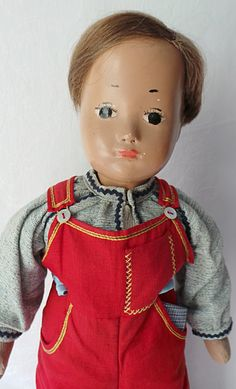 "20"" cloth-stuffed Sasha Studio doll, with B type five-piece jointed body, Switzerland, 1944-68, by Sasha Morgenthaler."