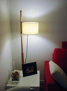 Sala de estar. Detalle de un ricón.