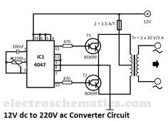 Electrical and Electronics Engineering: to converter circuit Electronic Circuit Projects, Electronic Engineering, Electrical Engineering, Ac Circuit, Circuit Diagram, Electric Circuit, Diy Electronics, Electronics Projects, Electronics Components