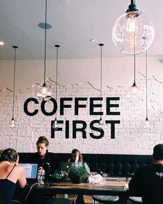 Ah...coffee first