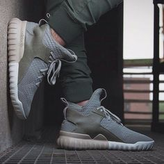 Adidas Originals Tubular X Knit: Sesame