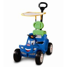 2 deluxe 1 roadster cozy little tikes ride kids toy car new toddler push handle