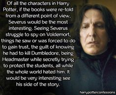 Of all the characters in Harry Potter, if the books were re-told...