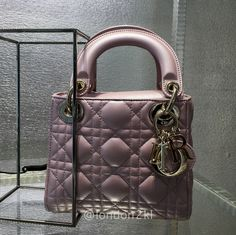 Mini Lady Dior Pink Pearlised RM11,800 ❤❤❤ it? Order now. Once it's gone, it's gone! Just WhatsApp me +44 7535 715 239, Erwan.  Click my account name for other great items. #l2klDior #l2klDior #l2klDior