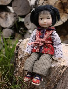 """Dragon Boat Festival Gigi by Ruby Red Galleria      Just wanted to show you """"Dragon Boat Festival"""" Gigi.  She's part of the Ten Ping line ..."""