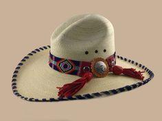 Western Palm Indian Chief Beaded Gus – Glands en peau de daim rouge et nickel … Custom Cowboy Hats, Custom Made Hats, Vintage Cowgirl, Cowgirl Hats, Cowgirl Bling, Western Hats, Cowboy And Cowgirl, Western Outfits, Western Wear