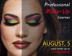 AUGUST 5 - LEFT ONLY 2 SLOT MAKE A BOOKING TODAY - GET EXTRA BRASHES FOR GIFT 🎁🎀🎁 ☎️ 043266836 🌎 www.make-up.ae