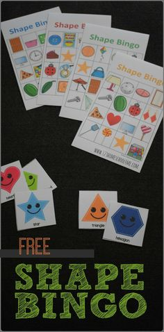 Free Shapes Bingo FREE Shape Bingo - fun shapes game will help kids go from knowing basic shapes to seeing them in the world around them. This is great for applying math for toddler, preschool, prek, kindergarten, and first grade. Math Activities For Kids, Preschool Classroom, In Kindergarten, Preschool Crafts, Preschool Activities, Toddler Preschool, Preschool Shape Activities, Cognitive Activities, Science Crafts