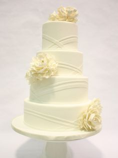 Amazing - but again - without the flowers From I Do! Wedding Cakes